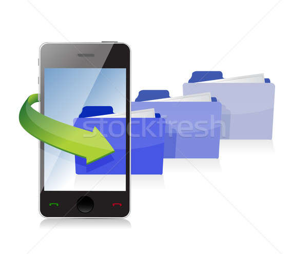 Technology information accessibility illustration  Stock photo © alexmillos