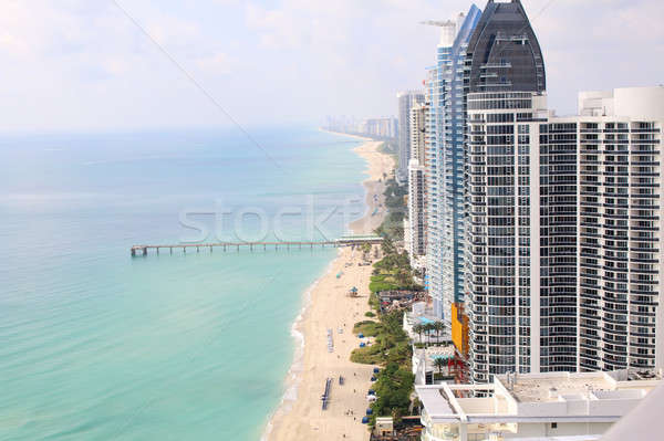 Sunny Isles Beach Miami. Ocean front residences.  Stock photo © alexmillos