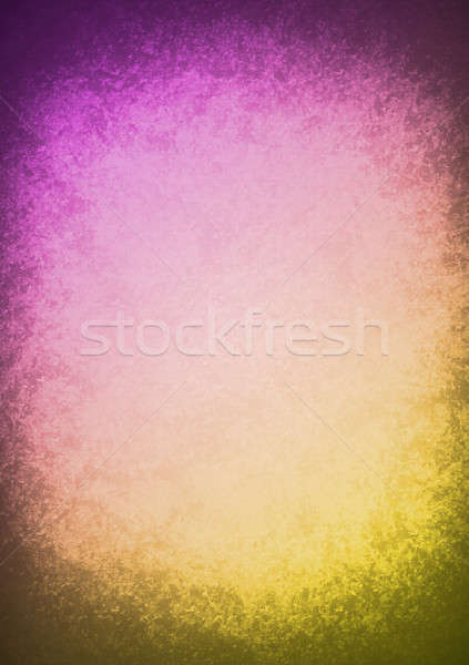 purple and yellow Old Paper Texture illustration Stock photo © alexmillos