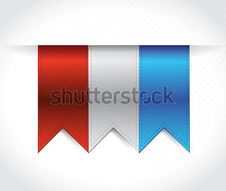 color banners illustration design Stock photo © alexmillos