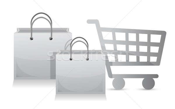 Sales shopping cart concept  Stock photo © alexmillos