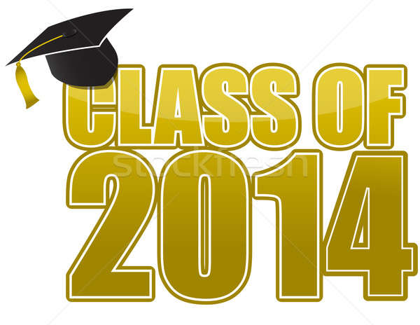 Stock photo: Graduation 2014