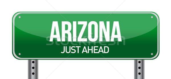 Arizona Road Sign Stock photo © alexmillos