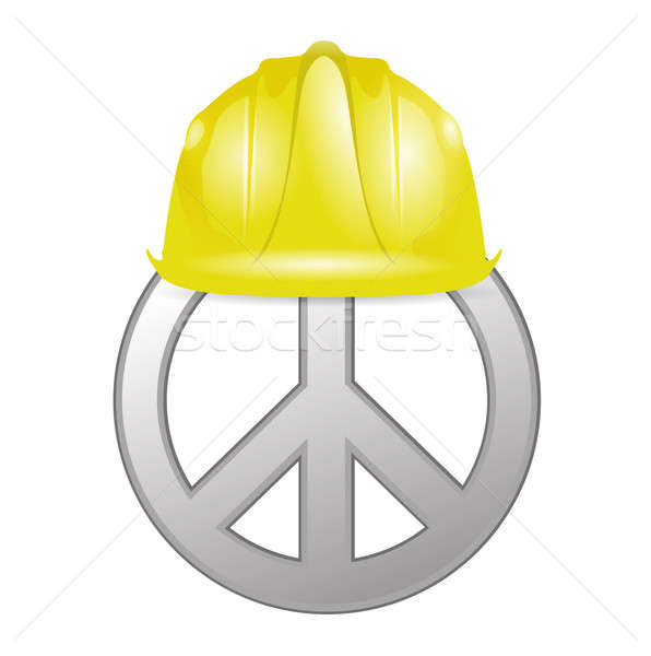 Peace under construction Stock photo © alexmillos