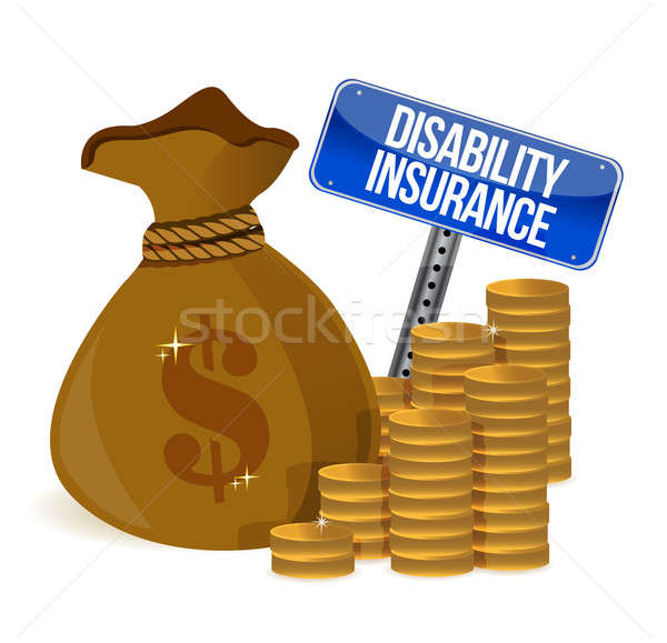 Disability insurance  Stock photo © alexmillos