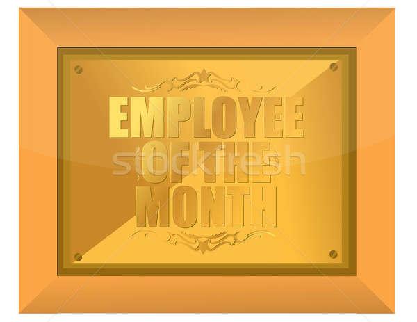 Employee of the Month Award Stock photo © alexmillos