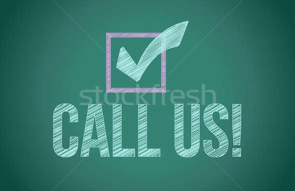 Oproep knop ontwerp ruimte web zwarte Stockfoto © alexmillos