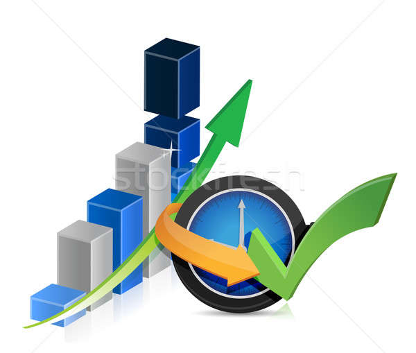 Business finance timing concept Stock photo © alexmillos