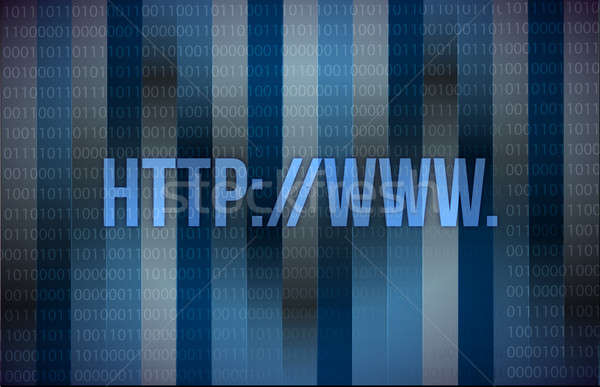 Stock photo: computer background http web page