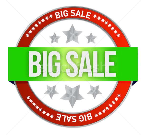 Grande venda vender on-line teia compras Foto stock © alexmillos