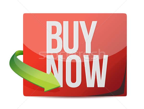 Buy now sign. illustration design  Stock photo © alexmillos