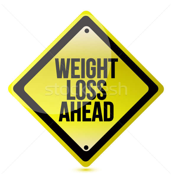 Weight loss concept Stock photo © alexmillos