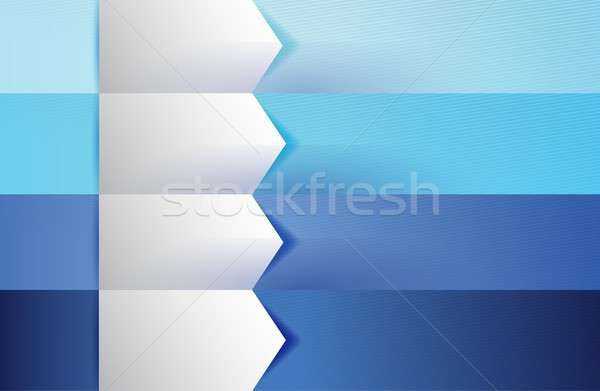 customizable blue texture Banners Infographics Stock photo © alexmillos
