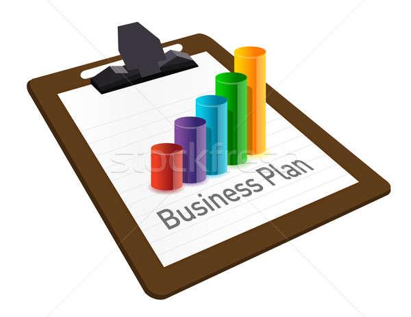 Business piano grafico valuta illustrazione design Foto d'archivio © alexmillos