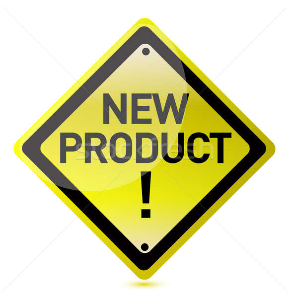 New product sign Stock photo © alexmillos