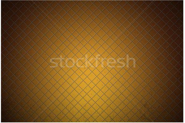 Narancs szén fémes végtelen minta terv textúra Stock fotó © alexmillos