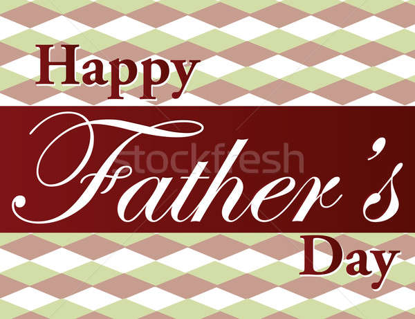 Father's Day text illustration over a nice background. Stock photo © alexmillos