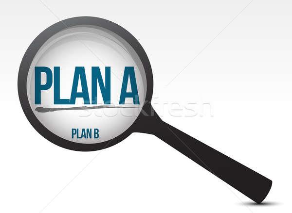 Kiválaszt egy terv másik illusztráció terv Stock fotó © alexmillos