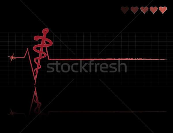 medical caduceus Stock photo © alexmillos