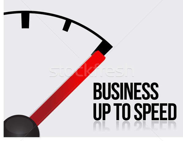 Business up to speed concept  Stock photo © alexmillos