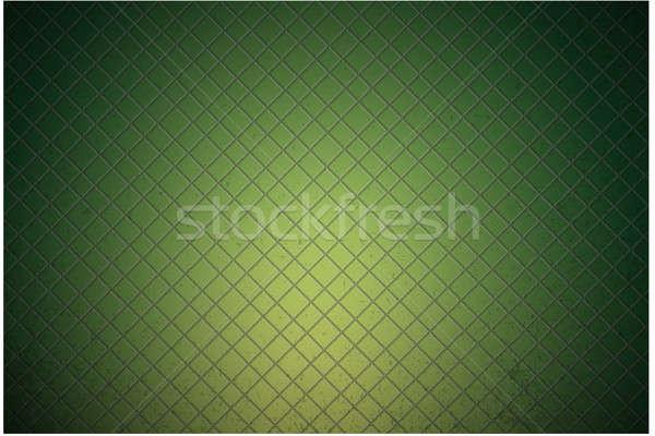Green carbon metallic seamless pattern design Stock photo © alexmillos