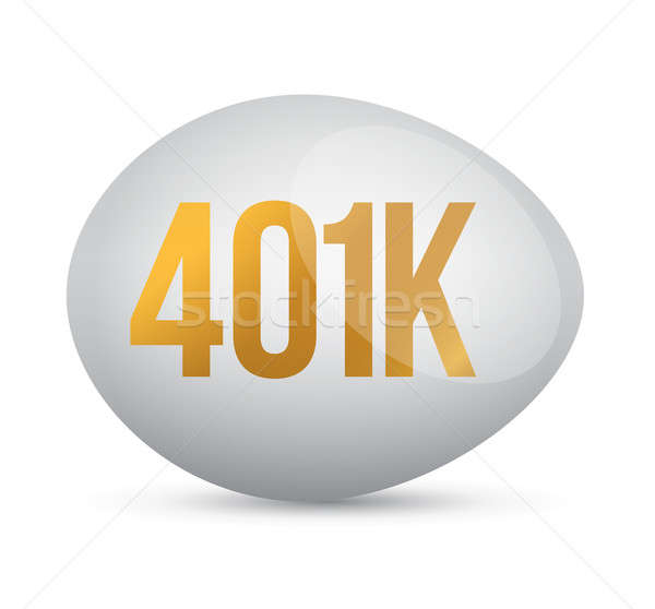Savings 401k financial planning retirement design Stock photo © alexmillos