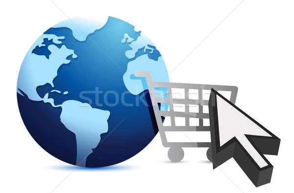 E-shopping - Concept  Stock photo © alexmillos
