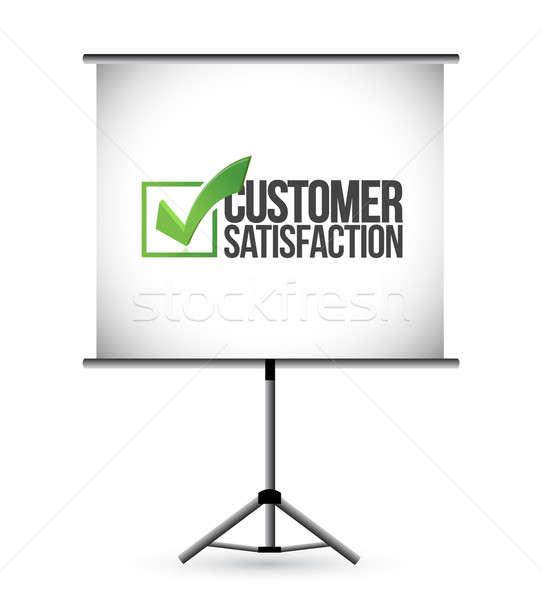 顧客満足 プレゼンテーション ビジネス 教育 通信 マーケティング ストックフォト © alexmillos