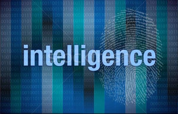 Intelligence Binary digital  Stock photo © alexmillos