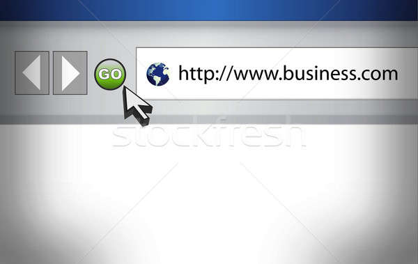 Internet háló böngésző üzlet szó művészet Stock fotó © alexmillos