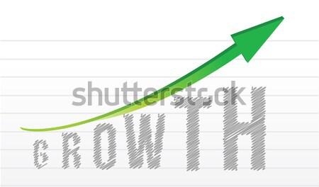 Núcleo valores mensaje escrito pizarra cielo Foto stock © alexmillos