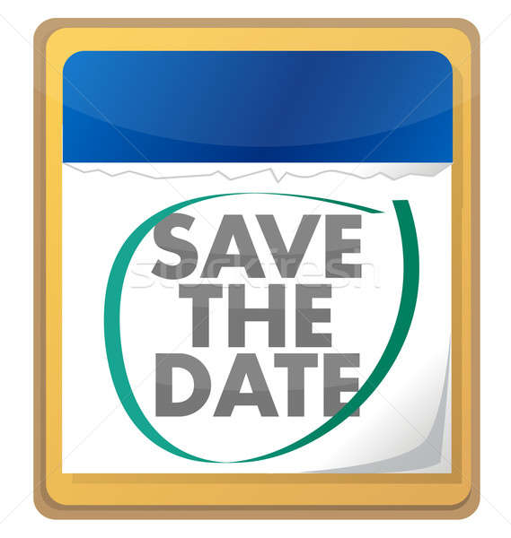 save the date Stock photo © alexmillos