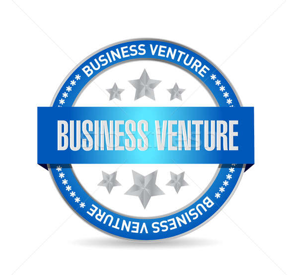 business venture seal sign concept Stock photo © alexmillos