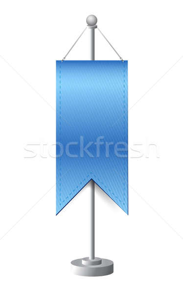 stand banner template illustration Stock photo © alexmillos
