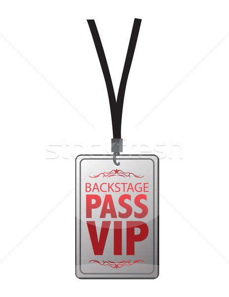 Stock photo: Backstage pass vip