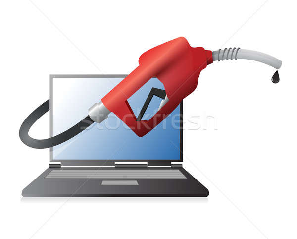 fuel technology illustration design Stock photo © alexmillos