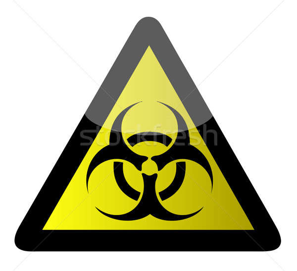 Biohazard sign Stock photo © alexmillos