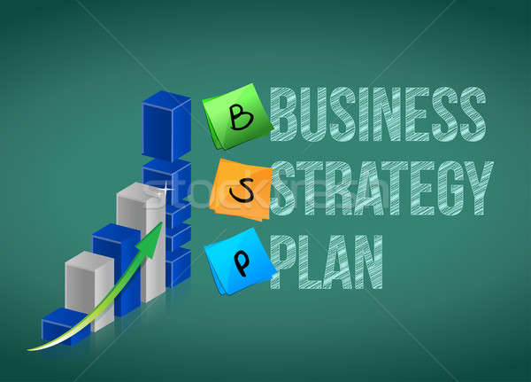 Business strategy plan Stock photo © alexmillos
