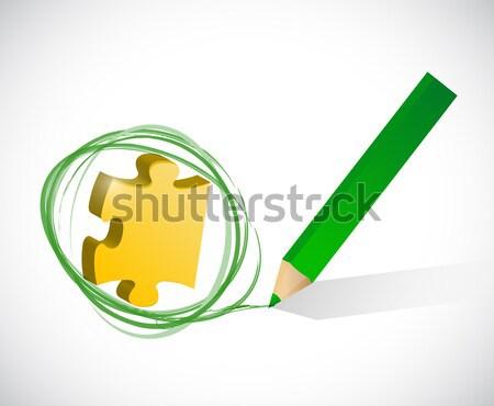 Alternatywa lek medycznych krzyż ilustracja projektu Zdjęcia stock © alexmillos