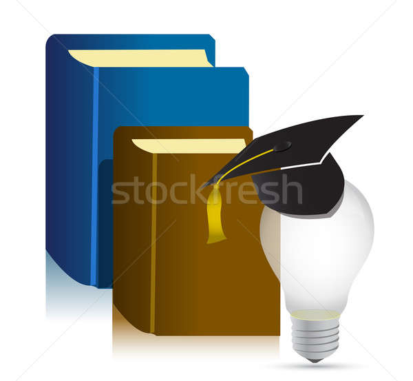 Education books idea  Stock photo © alexmillos