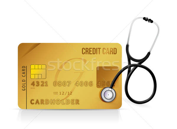 financial assistance needed concept illustration design over whi Stock photo © alexmillos