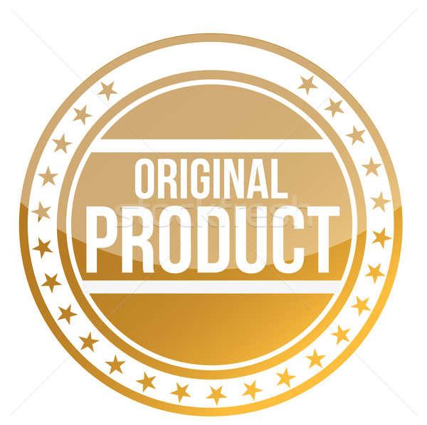 Stock fotó: Eredeti · termék · illusztráció · terv · fehér · háttér