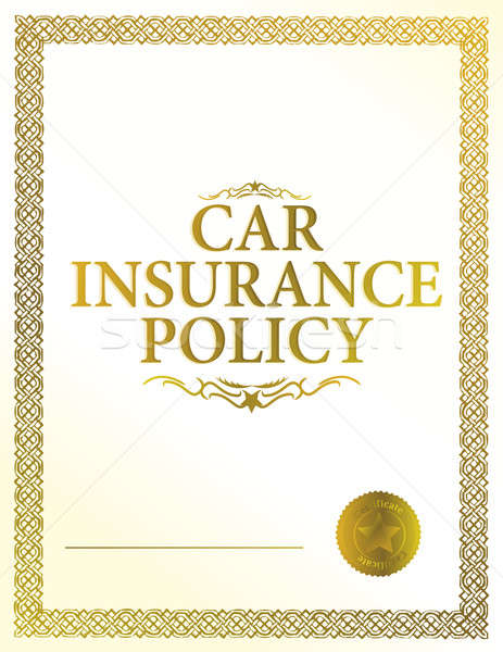 Automobil Versicherung Politik Geld Design LKW Stock foto © alexmillos