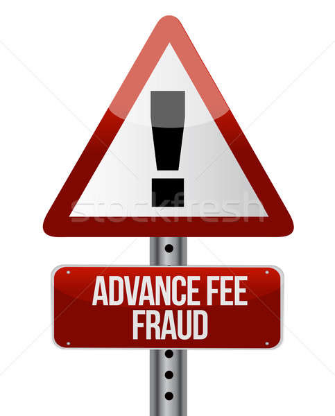 Advance fee fraud concept  Stock photo © alexmillos