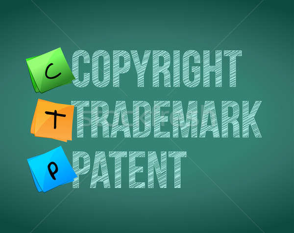 copyright, trademark and patent Stock photo © alexmillos