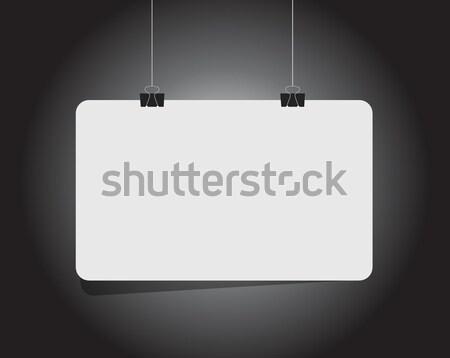 business innovation hanging diagram illustration Stock photo © alexmillos