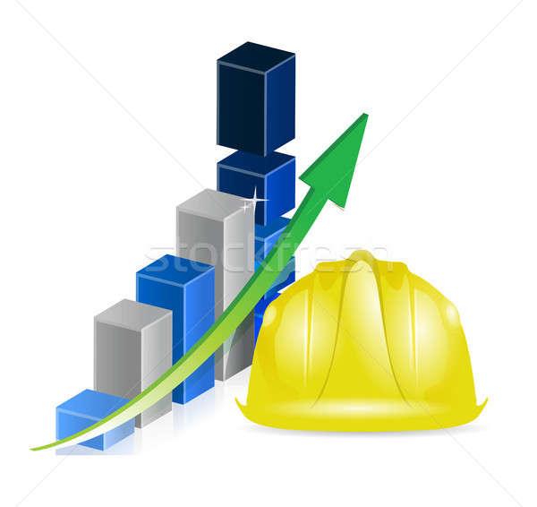 business construction profits Stock photo © alexmillos