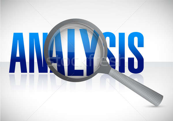 analysis under research Stock photo © alexmillos