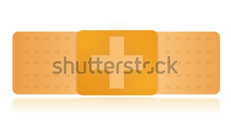 Adhesive bandage Stock photo © alexmillos