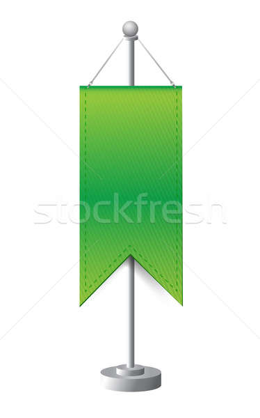 stand banner template illustration design Stock photo © alexmillos